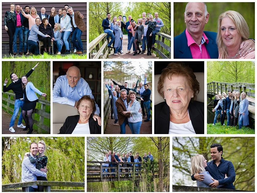 Familie Koelman-Collage